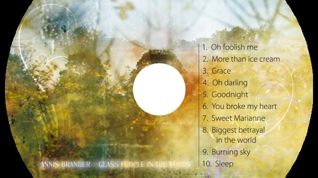 CD cover for Swedish country artist Annis Brander