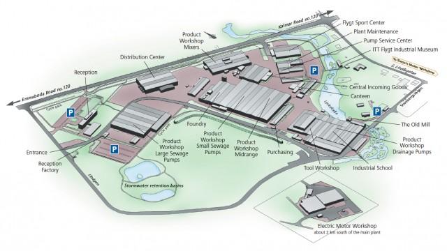 Emmaboda map